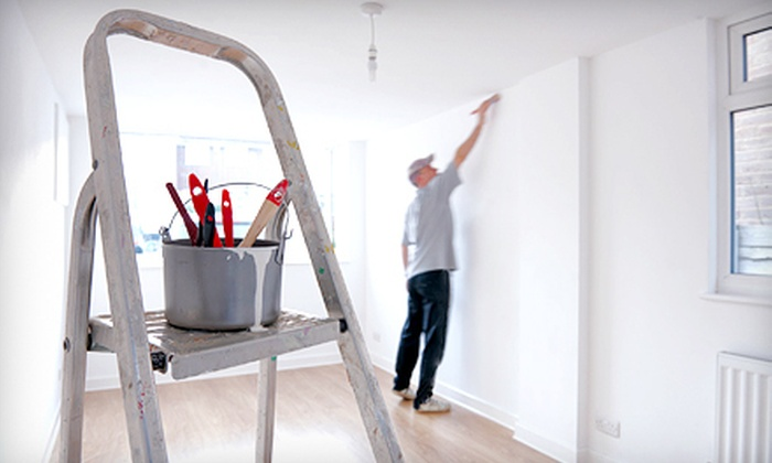 Suddenly Color Painting Company - Matoaca: Painting for Two Rooms or Eight Hours of Interior Painting Services from Suddenly Color Painting Company (Up to 66% Off)