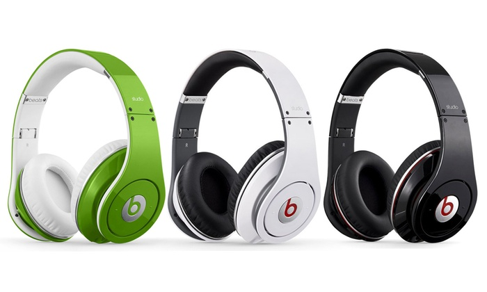 Beats By Dr. Dre Studio Over-Ear Headphones: Beats By Dr. Dre Studio Over-Ear Headphones. Multiple Colors Available.