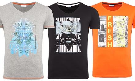 Herren Summer Fresh T-Shirt in Modellen und der Farbe nach Wahl