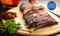 All-You-Can-Eat Ribs with Drink for Two ($39) or Four People ($75) at Blend Bar & Restaurant (Up to $140 Value)