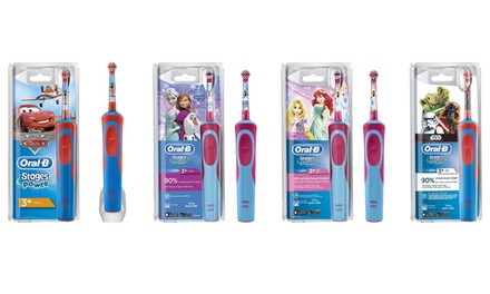 OralB Children's Character Electric Toothbrush