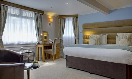 Scottish Borders: Superior/Deluxe Room Breakfast, Dinner and Late CheckOut at Philipburn House Best Western