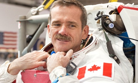 An Evening with Colonel Chris Hadfield at Conexus Arts Centre on December 3 at 7:30 p.m. (Up to 44% Off)