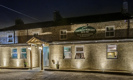 Co. Durham: 1, 2 or 3 Nights for Two with Breakfast and Dinner at Thomas Wright House
