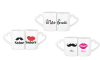 His and Hers Mugs in Choice of Design for AED 49 (59% Off)