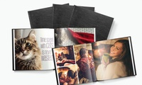 20-, 40- or 60-Page 8 x 8 or 11x11 Leather Photobook with Printerpix (Up to 72% Off)