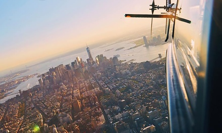 Doors-On or Doors-Off NYC Helicopter Flight Experiences from FlyNYON (Up to 24% Off). Four Options Available.