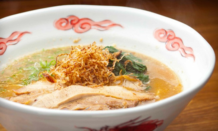 Ramen Jinya - Downtown Vancouver: $19 for a Four-Course Japanese Dinner at Ramen Jinya ($39.70 Value)