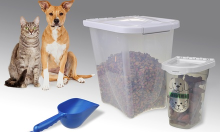 Van Ness Airtight Pet-Food Container Set (3-Piece)