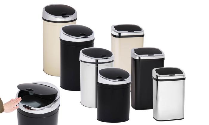 Davis&Grant Sensor Abfallbehälter 3 l, 30 l, 40 l, 50 l, 60 l rund oder quadratisch in der Farbe nach Wahl