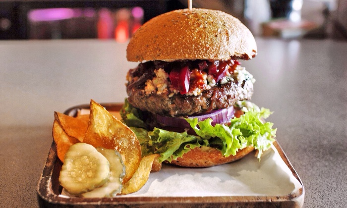 Raglan Public House - Ocean Beach: Grass-Fed Burgers and New Zealand Gastropub Fare at Raglan Public House (Up to 43% Off). Two Options Available.