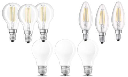 Set 3 lampadine Osram
