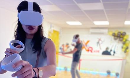 Bono de 60, 120 o 240 minutos de juego para 1, 2 o 4 personas en el centro Xr Virtual Arcade