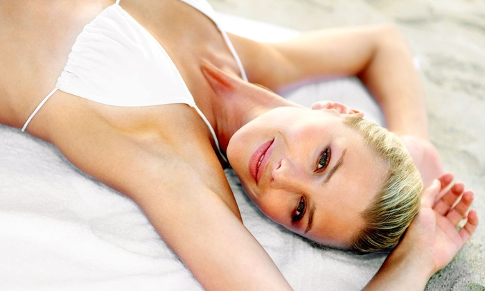 We Spa - Evanston: $55 for a Waxing Package with a Brazilian, Underarm, Eyebrow, and Lip Wax at We Spa ($110 Value)