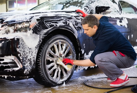 One or Two Hand Washes and Waxes or Express Full Detail at All Star Detailing Car Wash (Up to 38% Off)