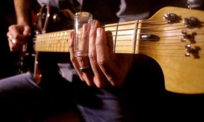 Center Stage Guitar Academy: $15 for One Year of Online Guitar Lessons from Center Stage Guitar Academy ($108 Value)