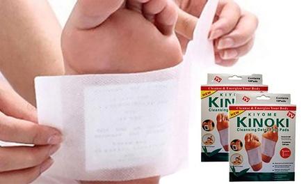 Jusquà 40 patchs Kinoki Detox, pour aider à détoxifier le corps de façon naturelle