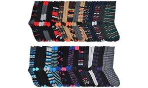 John Weitz Men's Premium Cotton-Blend Dress Socks (30-Pairs)