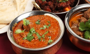 The Spice lounge: Three-Course Indian Meal for R220 for Two at The Spice Lounge