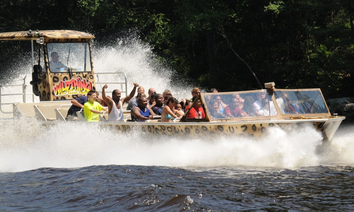 Wild Thing Jet Boat Tours Wisconsin Dells