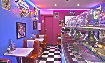 Burger, frites, boisson et dessert pour 2 ou 4 personnes dès 20,90 € au Lucky Days Montpellier