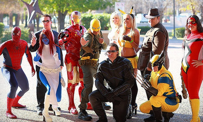 Amazing Las Vegas Comic Con - Enterprise: Visit with Print for One or Two to Amazing Las Vegas Comic Con on June 14–16 (Up to 85% Off). Five Options Available.