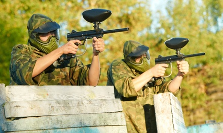 One or Two All-Day Paintball Passes with Rental Gear at Battlegrounds Paintball at NJ MP (Up to 46% Off)