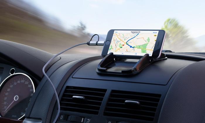 Groupon Goods Global GmbH: Soporte Sinji Sticky pad para smartphones y GPS desde 3,99 € (hasta 83% de descuento)