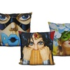 Human Form and Fashion Art Print Throw Pillows by Scott Rohlfs