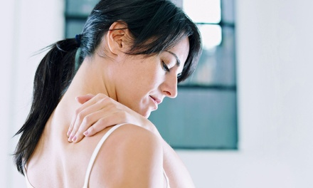 $39 for a Chiropractic Exam, X-rays, Adjustment, and 30-Minute Massage at Healthsource of Rockford Central ($460 Value)