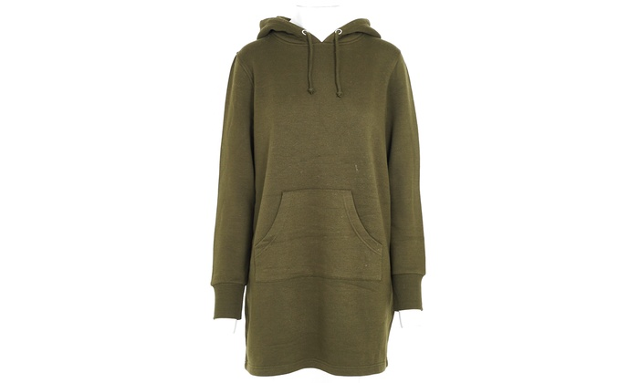new styles 92c2f a948e Pullover-Kleid mit Kapuze | Groupon Goods