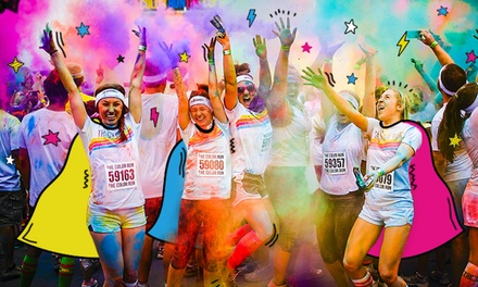 $35 for One Super Color Runner Entry at The Color Run Bay Area CA 2018 ($40.24 Value)