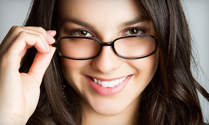 Indigo Optical Inc. - Astoria: Eye Exam with $215 Toward Prescription Eyewear or Two Pairs of Glasses at Indigo Optical Inc. (Up to 87% Off)