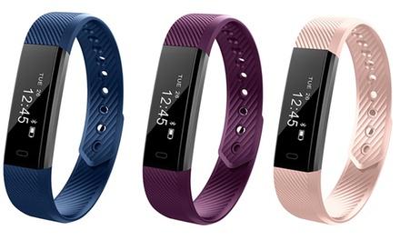 Fitness-Tracker mit OLED-Display, Schrittzähler, Kalorienzähler und Schlafmonitor in der Farbe nach Wahl inkl. Versand (Frankfurt)