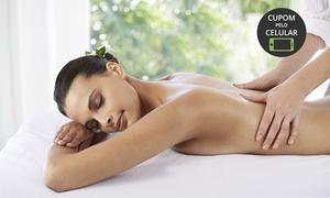 Florencia Eco Spa: Florencia Eco Spa – Santo André: 1 ou 2 míni days spa com massagem relaxante dorsal, massagem craniana e reflexologia