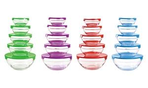Set boîtes conservation en verre