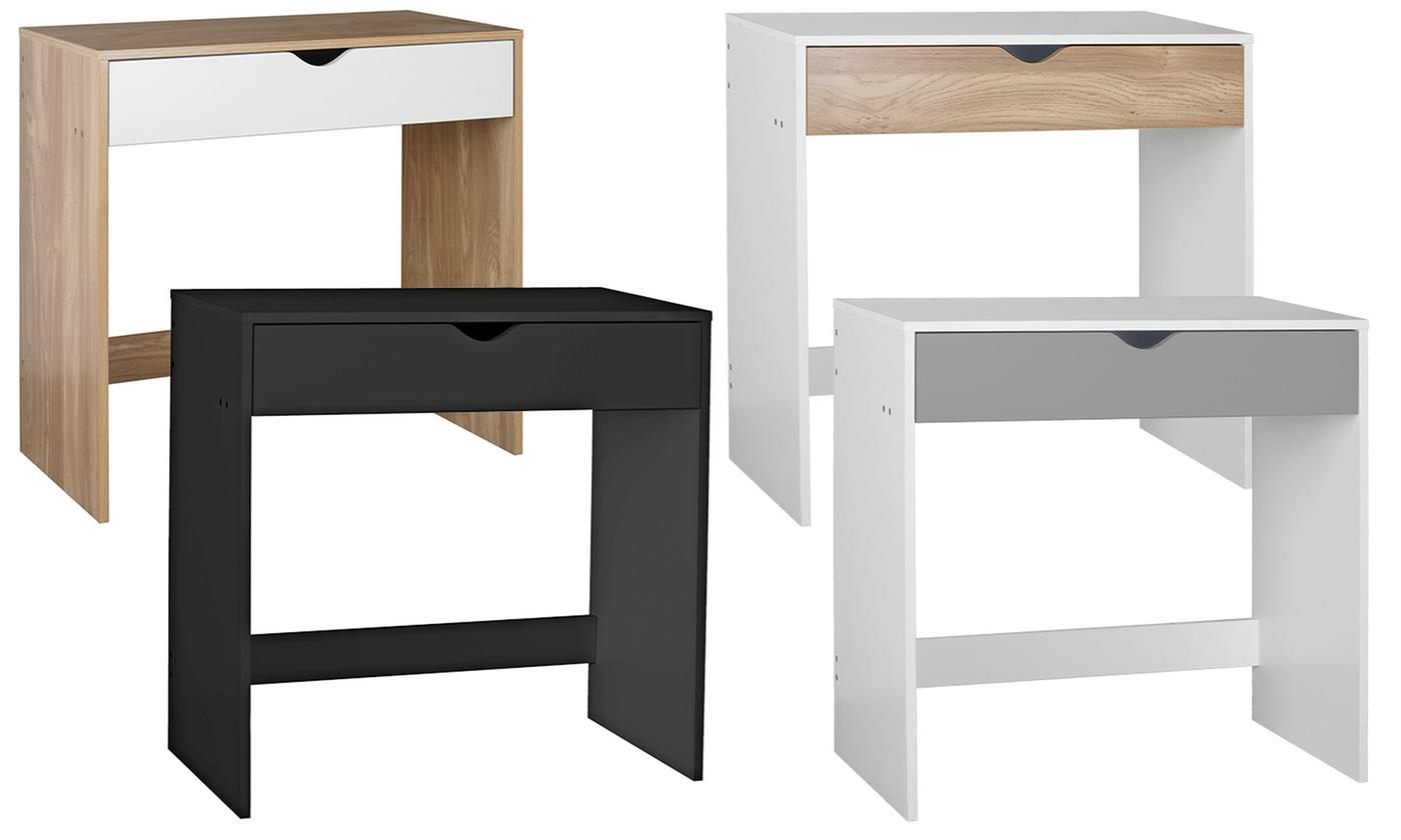 Small One-Drawer Dressing Table in Choice of Colour