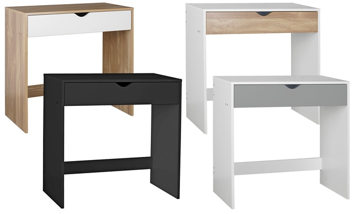 Small One-Drawer Dressing Table in Choice of Colour from £29.99 (33% OFF)