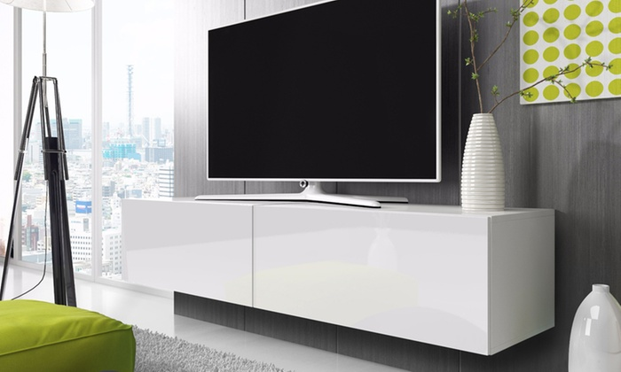 Tv Meubel Break.Tv Cabinet Groupon