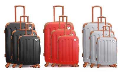 Shop Groupon Gerard Pasquier Luggage Set 1d3ca5e281