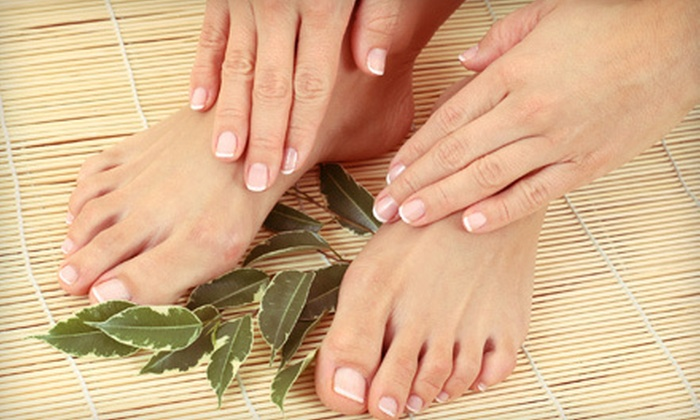 Dazzles Hair Studio and Day Spa - Far Northeast Philadelphia: One or Two Regular or Spa Mani-Pedis at Dazzles Hair Studio and Day Spa in Bensalem (Up to 68% Off)