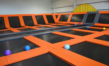 Two or Four Jump Passes at Big Bounce (Up to 48% Off)
