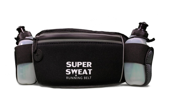 Super Sweat Neoprene Waist Bag with Bottle Holders