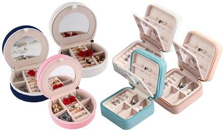Mini Travel Jewellery Case Organiser: One ($18) or Two ($26)