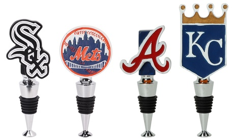Team Sports America MLB Logo Bottle Stoppers