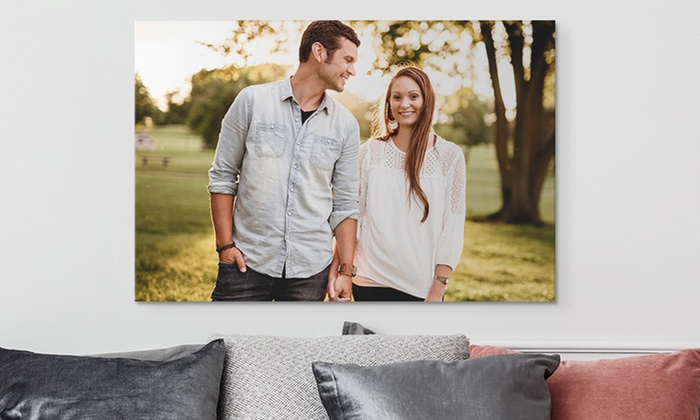 Canvas on Demand - From $24 | Groupon
