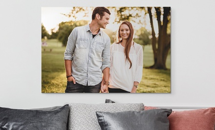 """24""""x36"""" Personalized Custom Canvases from Canvas on Demand (Up to 92% Off)"""