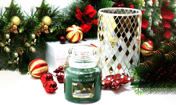 Yankee Candle Garland And Holder Groupon Goods