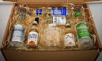 Irish Spirits Tasting kit