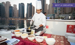 Xclusive Yachts: Iftar Cruise with an 5* International Buffet and Free-Flowing Soft Drinks for Up to Four with Xclusive Yachts (34% Off)